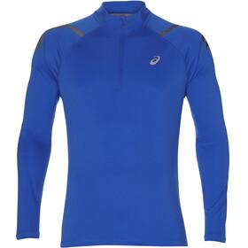 asics Icon Maglietta corsa maniche lunghe Uomo blu